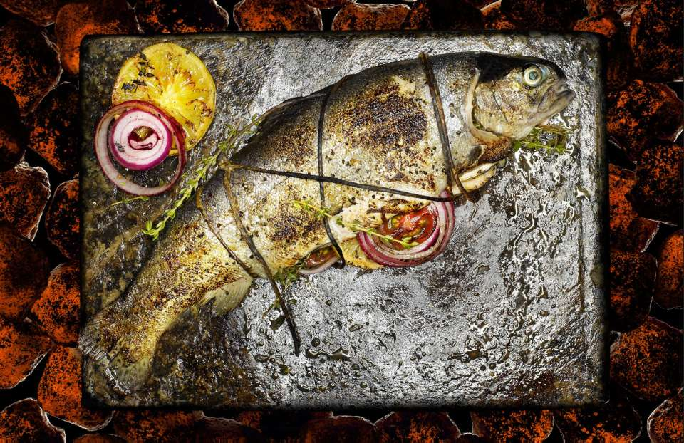 Lucas Zarebinski photography - Grilled Fish