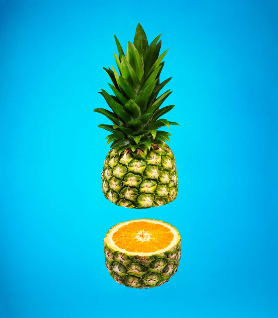 Lucas Zarebinski photography - Pineapple Orange